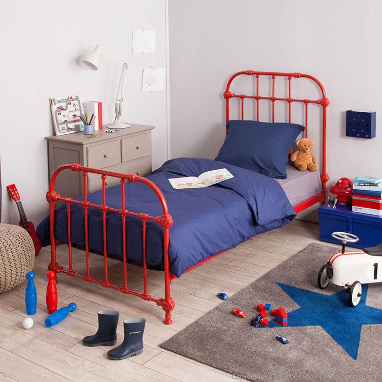 A la recherche d'un lit en métal enfant ou fer forgé | Lit en métal Hugo, Zelie Gredine