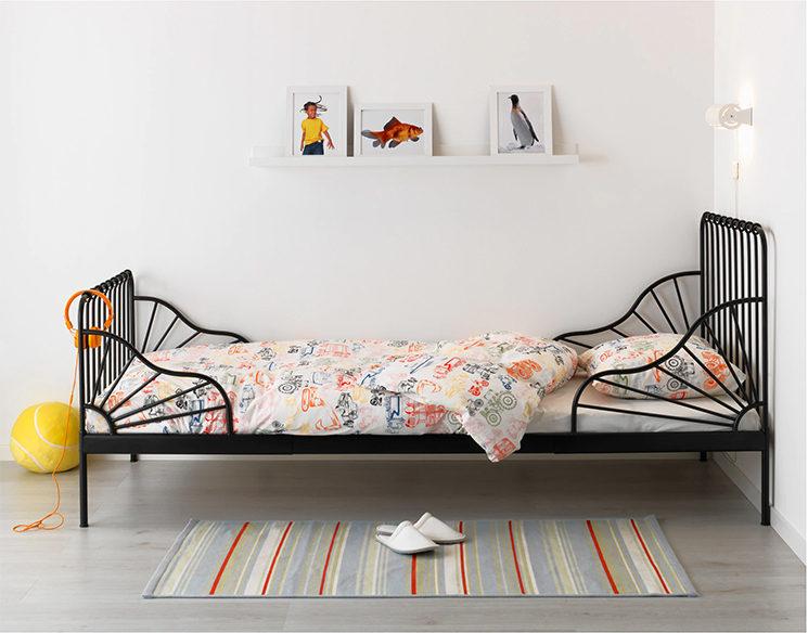 A la recherche d'un lit en métal enfant ou fer forgé | Lit Minnen, IKEA