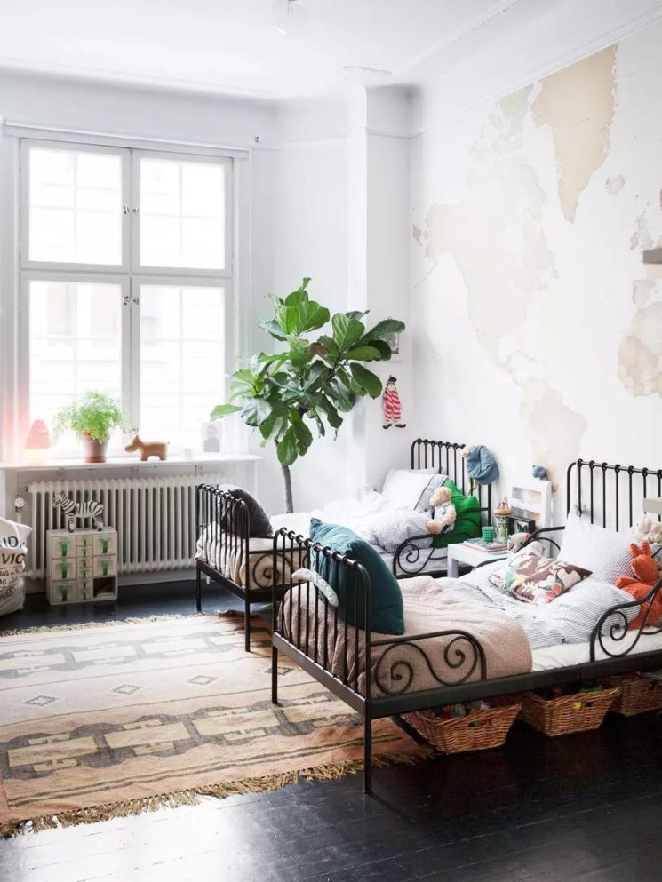 A la recherche d\'un lit en métal enfant - Turbulences Déco