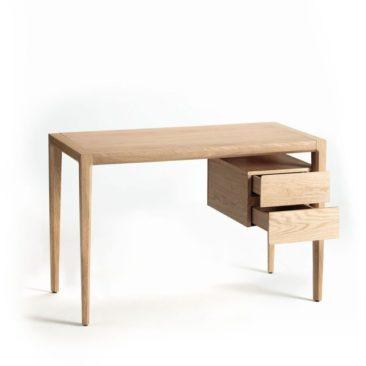 Bureau en chêne Nizou, design E-Gallina, Ampm
