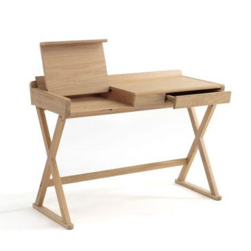 Sélection de petits bureaux en bois design || Bureau en chêne Brixton, Ampm