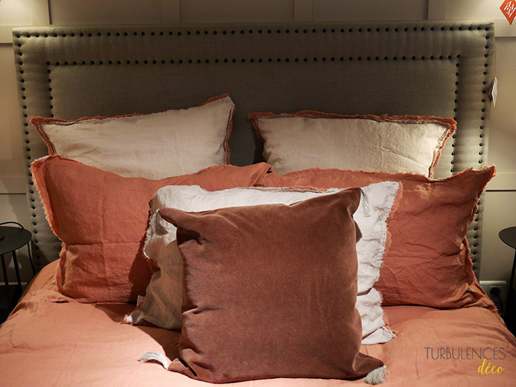La nouvelle boutique Ampm de Lyon à l'Hôtel-Dieu || Taie oreiller frange Alhanasia + Housse de coussin Cacolet