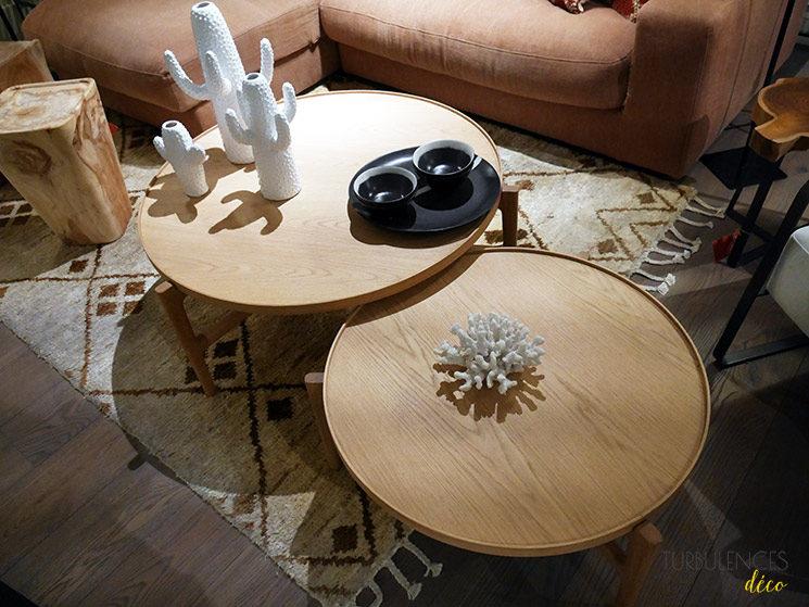 La nouvelle boutique Ampm de Lyon à l'Hôtel-Dieu || Table basse Alyasa