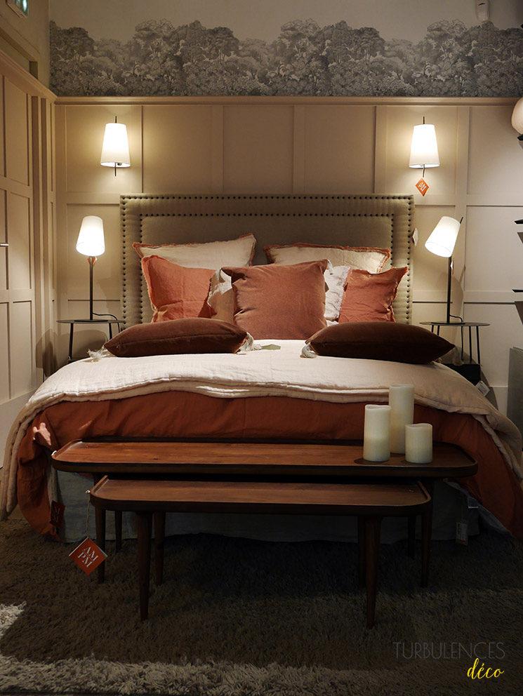 La nouvelle boutique Ampm de Lyon à l'Hôtel-Dieu || Tête de lit Yliana + Table basse Magosia