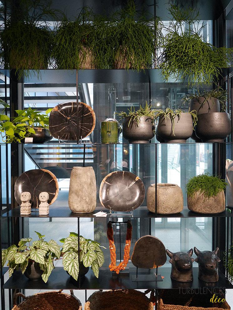 La nouvelle boutique Ampm de Lyon à l'Hôtel-Dieu || Bibliothèque métal Parallel