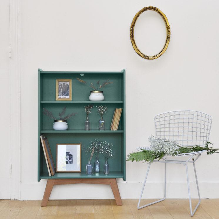 Collection capsule Cyrillus & Bilboquet    Etagère vert ou rose nude