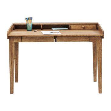 Sélection de petits bureaux en bois design || Sélection de petits bureaux en bois design || Bureau en chêne Attento, Kare Design