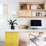 Un bureau hygge, nature, chaleureux, tout doux