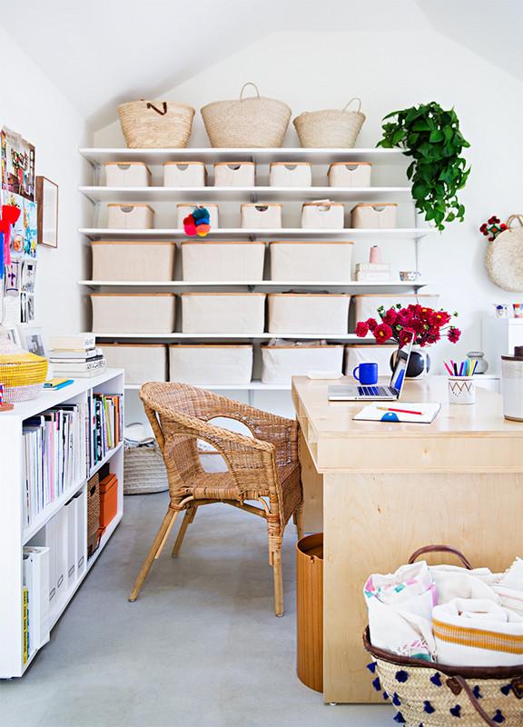 Pourquoi pas se créer un bureau hygge, nature, chaleureux, tout doux ?