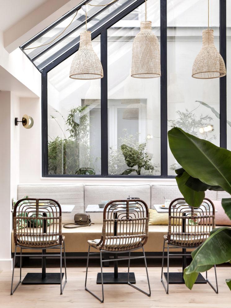 Choisir des chaises de salle à manger confortables || Hôtel Doisy Etoile, Paris