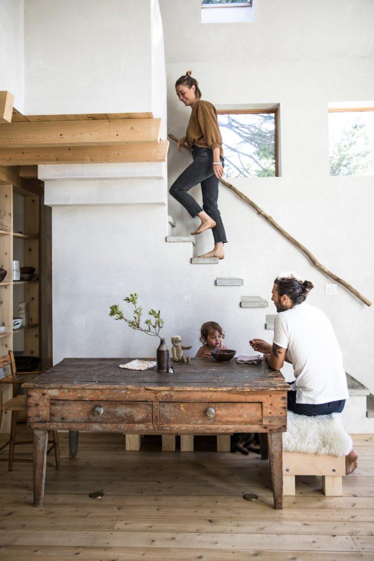 [ Inspiration déco ] Esprit rustique, esprit campagne || La maison d'Anthony Esteves dans le Maine