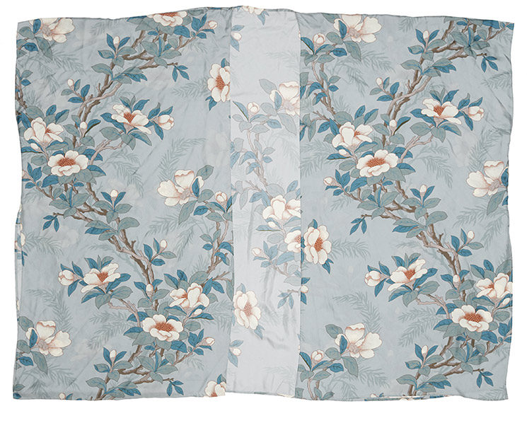 Nouveau Kimono GATSBY Flowers blue par Bed and philosophy