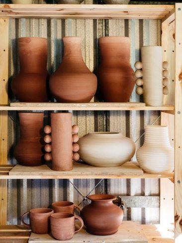 Le orange en déco et autres couleurs d'automne // Nicolette Johnson ceramics