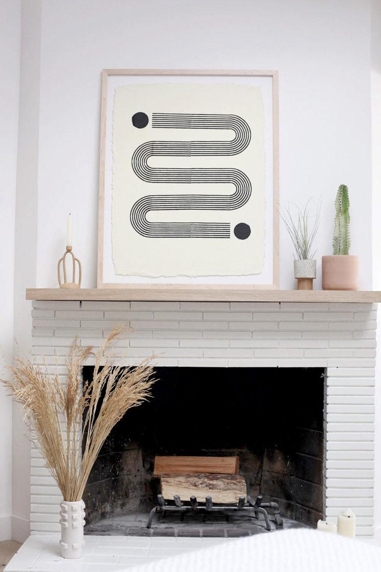 Block Shop Print, impressions graphiques au bloc || Dawbarn House