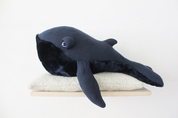 Petite baleine nuit - Boutique Big Stuffed sur Etsy