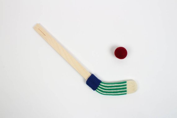 Mini bâton de hockey - Boutique Des Enfantillages sur Etsy