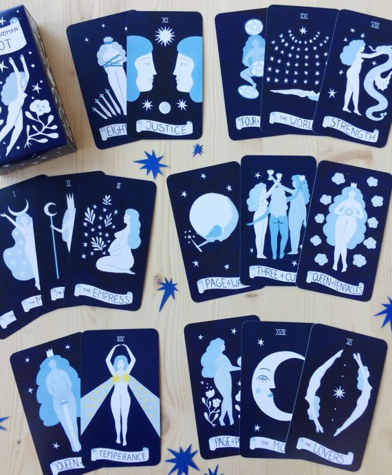 Tarot cosmique Lisa - Boutique Etsy Junius