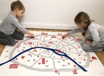 Tapis de jeu Paris - Boutique Square Ferdinand sur Etsy