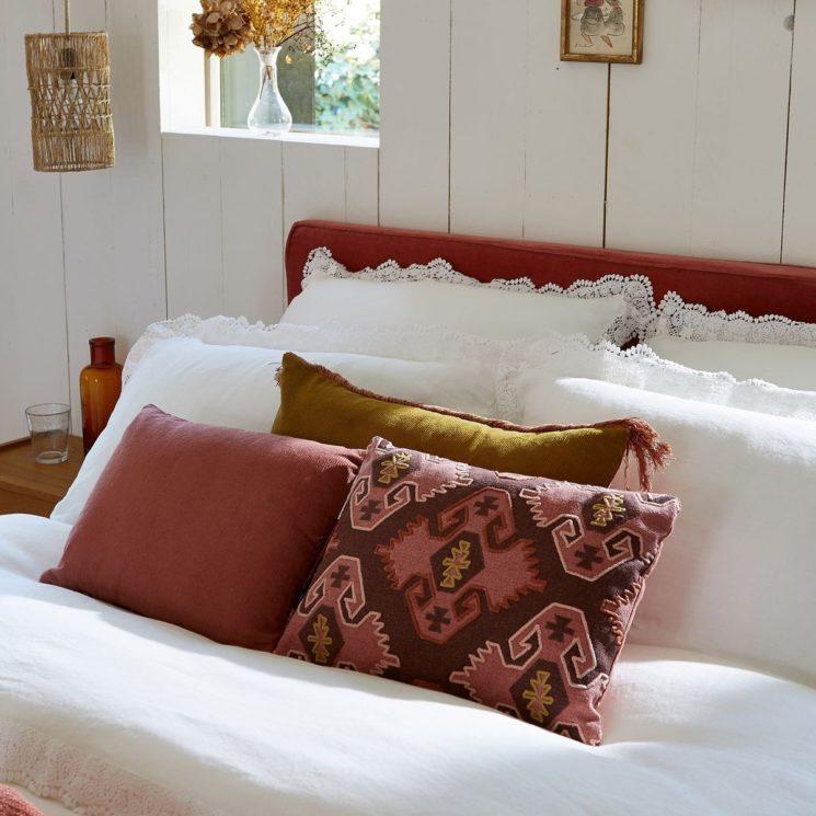 Une jolie collab Billie Blanket et La Redoute Intérieurs // Coussins et linge de lit