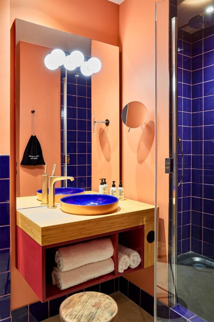 Hôtel Terminus Nord 25Hour à Paris : Ambiance Wax mania