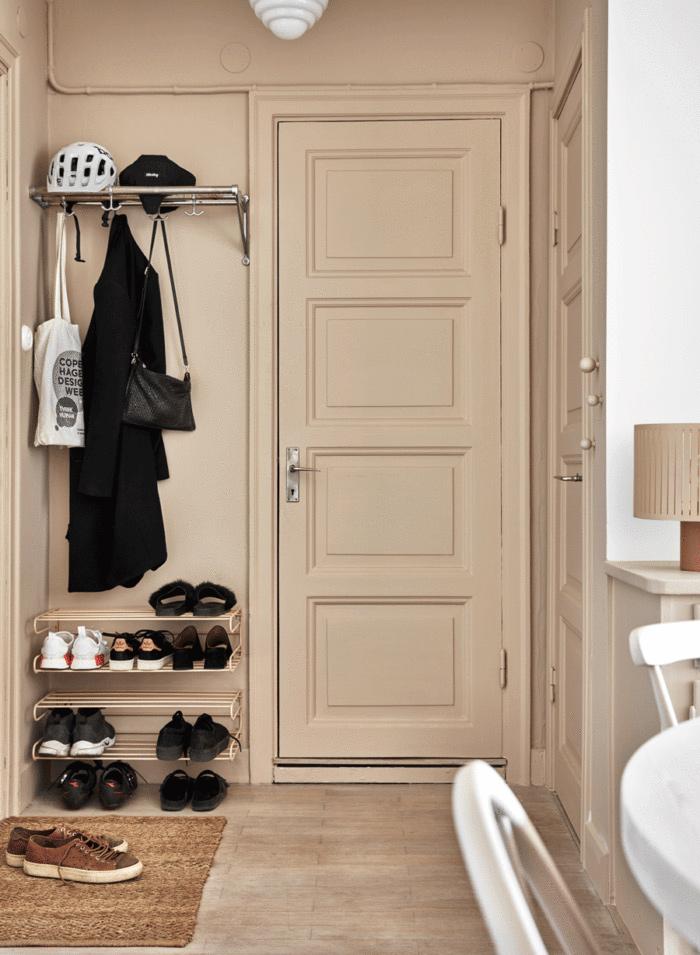 6 astuces pour rendre sa porte d'entrée design et glamour // La fondre avec le mur