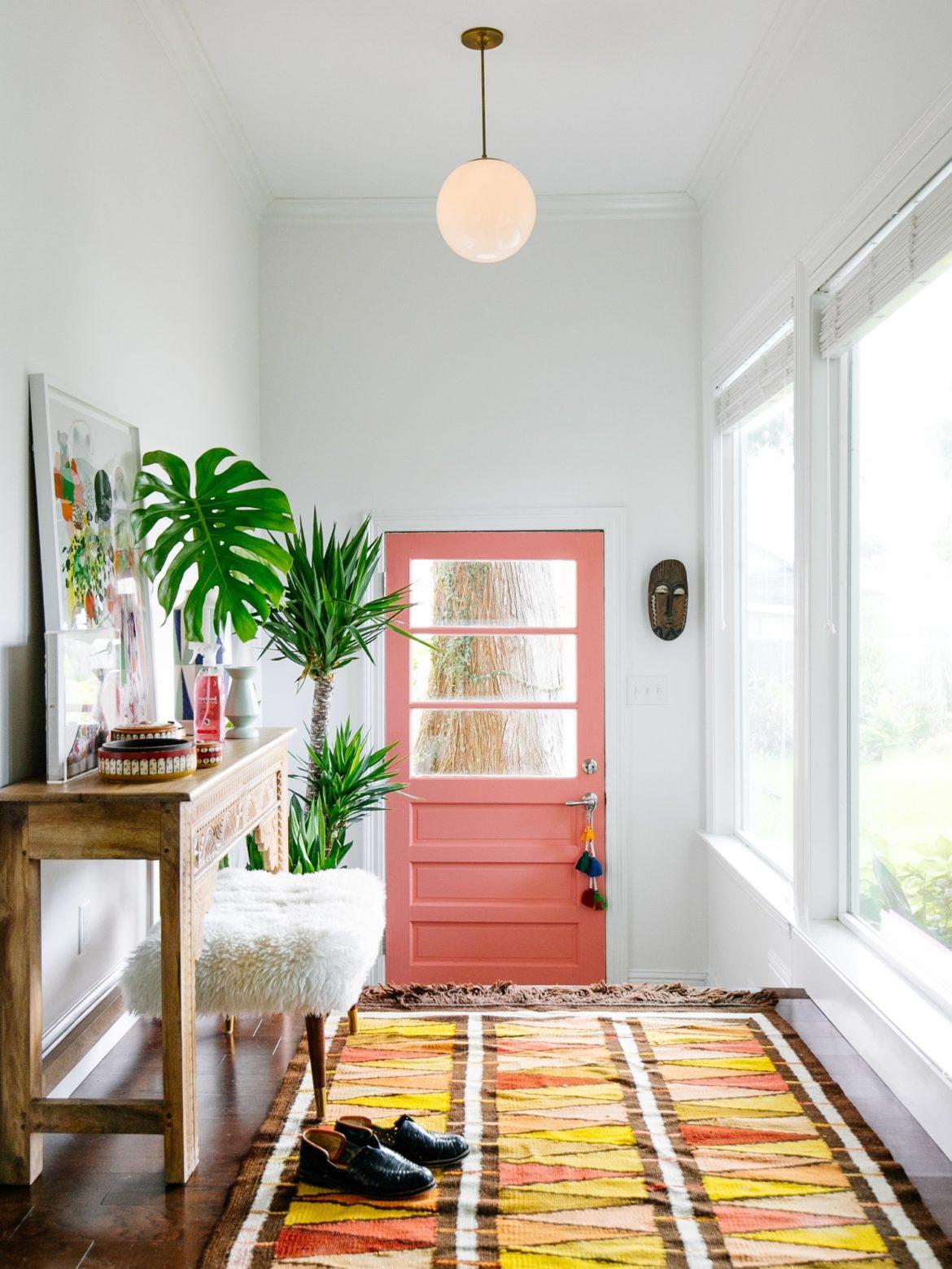 6 astuces pour rendre sa porte d\'entrée design et glamour ...