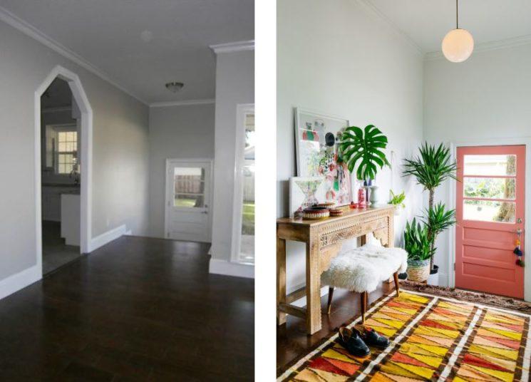 6 astuces pour rendre sa porte d'entrée design et glamour // Avant - Après Old Brand New