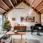 Un Noël nature dans une grange au Pays de Galles