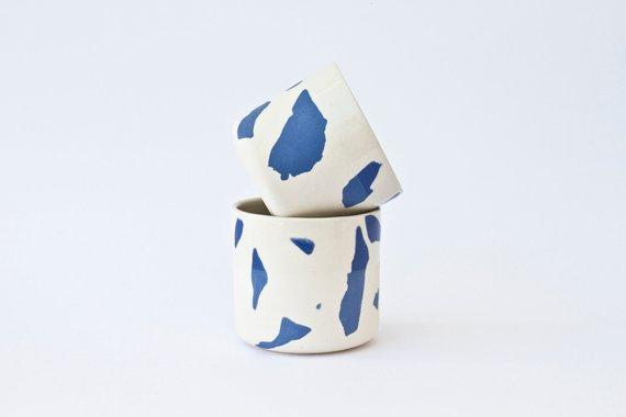 Tasse ou cache-pot en céramique - Boutique Etsy Maevo Studio