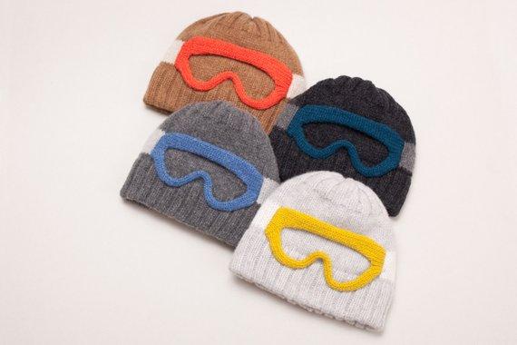 Bonnet lunettes de ski - Boutique Etsy Nina Fuehrer