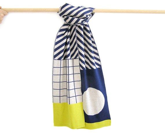 Écharpe en laine - Boutique Etsy Olula