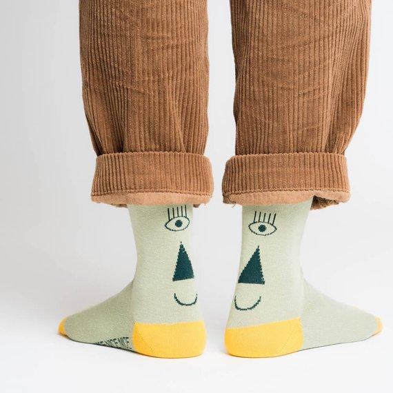 Chaussettes fantaisies en coton bio - Boutique Etsy Nice Nice Nice
