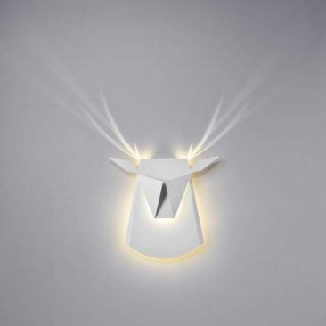Applique en aluminium, Dear Head - Design Chen Bikovski Popup pour Lighting - 249 €