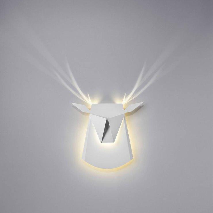 Applique en aluminium, Dear Head - Design Chen Bikovski pour Popup Lighting