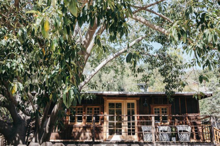 Une cabane à L.A. décorée par Leanne Foard