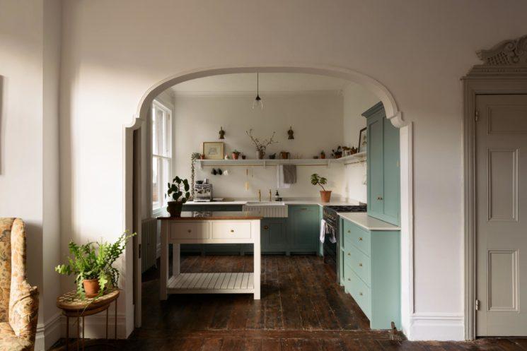 Une cuisine new-old signée deVOL - Une villa édouardienne à Cardiff