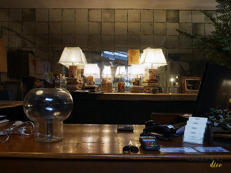 Visite du bistrot Borgo delle Tovaglie à Paris