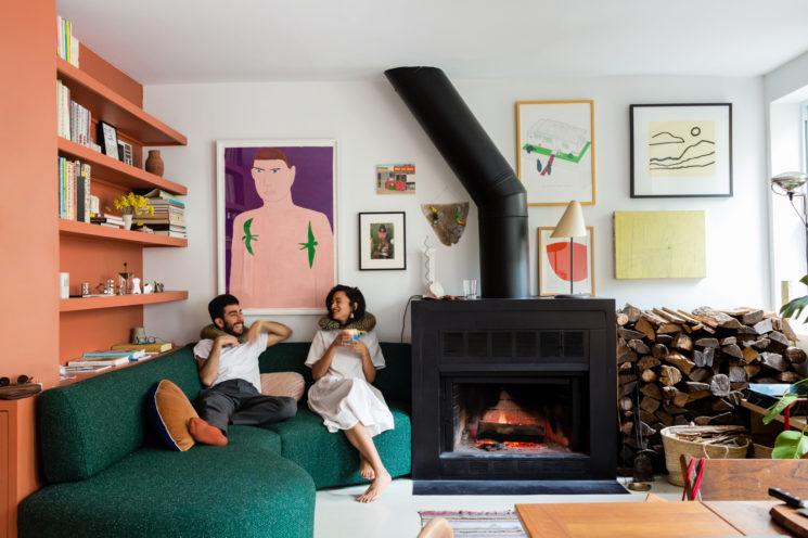 Comment mettre de la couleur dans sa déco ? \\ l'appartement de Omar et Laila