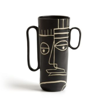 Nouveau catalogue Ampm SS2019 // Vase en grés noir, Antignone