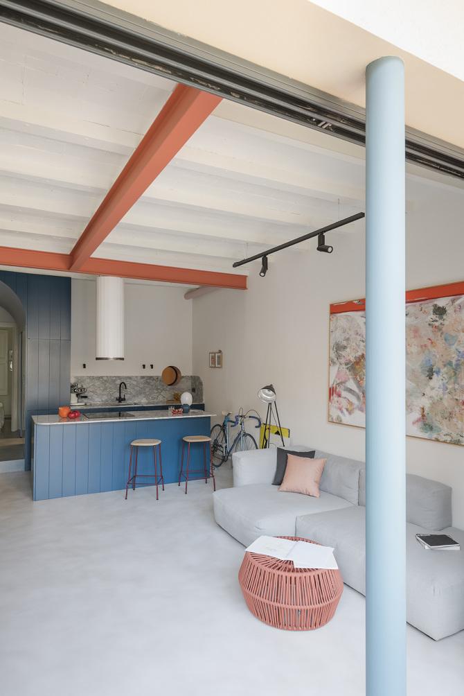 Comment mettre de la couleur dans sa déco ? \\ Design interieur CaSA - Colombo and Serboli Architecture