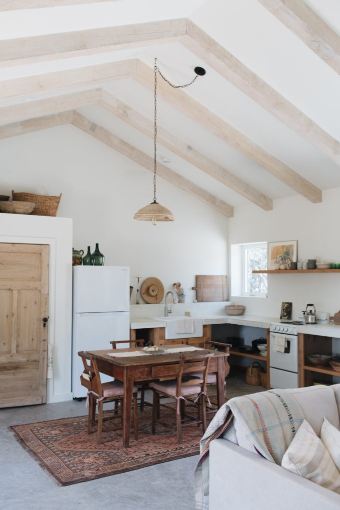 [ Idée déco ] Un tapis persan dans la cuisine // La maison de Kate Zimmerman Turpin