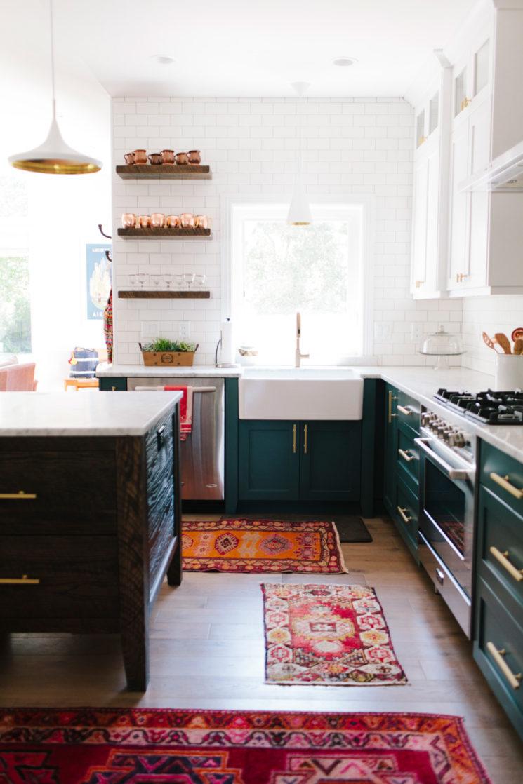 [ Idée déco ] Un tapis persan dans la cuisine // Une maison dans l'Utah