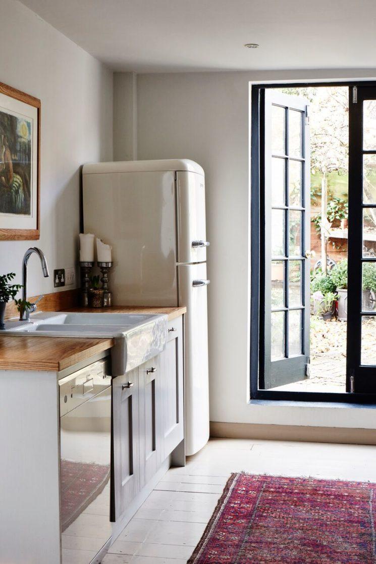 [ Idée déco ] Un tapis persan dans la cuisine // Design intérieur Cassandra Ellis