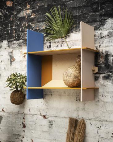 Collection Överallt Ikea - Disponible en mai 2019 || Fauteuil et étagères par Issa Diabate + Kevin Gouriou