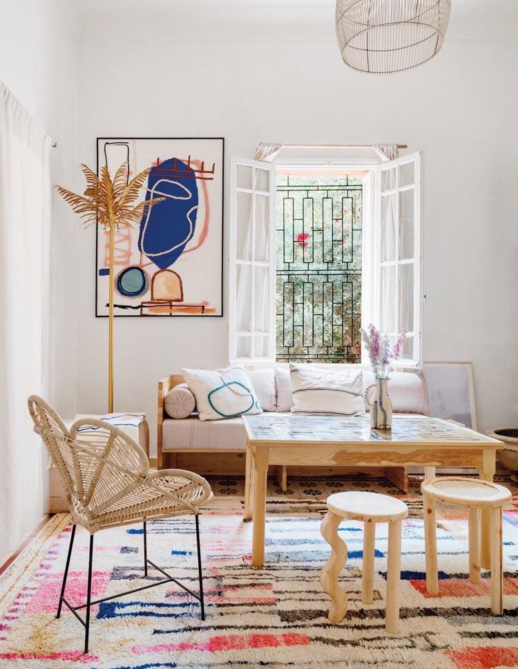 L'intérieur de Laurence Leenaert, une nouvelle vision du style méditerranéen, du style berbère marocain