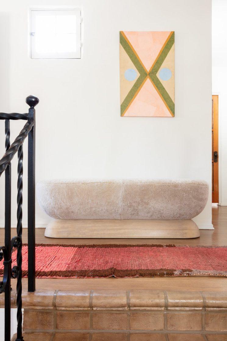 [ Inspiration déco ] Rose toujours, rose bohème en déco || Une maison coloniale espagnole à L.A.
