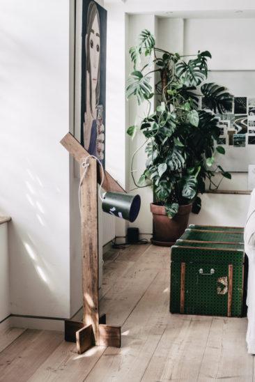 La couleur verte en déco // Intérieur d'Alex Eagle à Soho