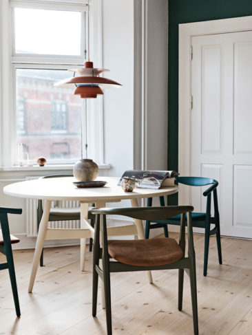 La couleur verte en déco // Un appartement à Copenhague
