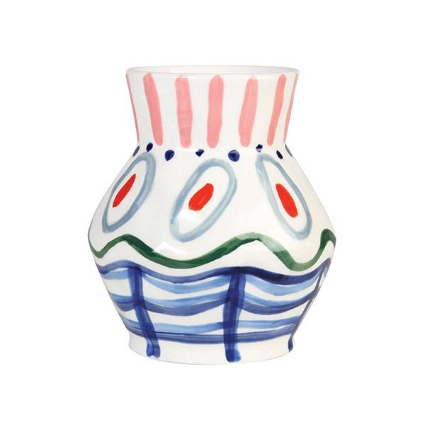 Vase peint à la main, Dalil - Klevering