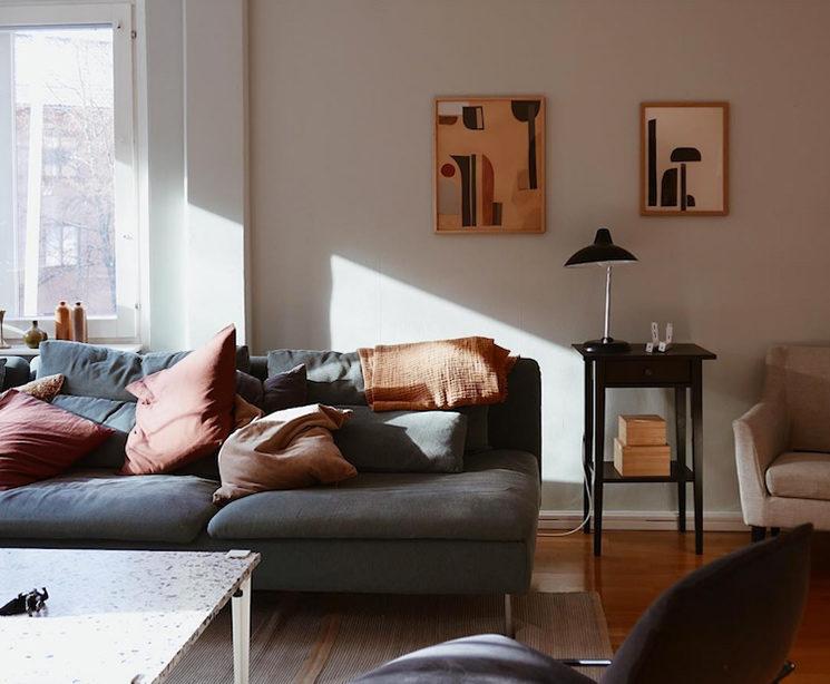 [ Style déco ] Le charme bohème du vintage || Intérieur de Petra Gardefjord-interior @minimockspetra